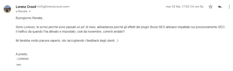 boost seo feedback